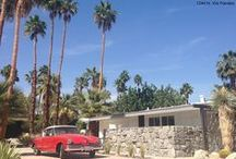 Palm Springs Style / Palm Springs relaxed retro vibe is always in style.