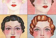 Vintage Makeup / Gorgeous sweet vintage make-up guides of the 1920s, 1930s, 1940s, 1950s, and 1960s from Vintage Makeup Guide.com | Glamourdaze.com and across the web. / by Glamour Daze