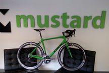 Mustard Bikes / At mustard we love all things biking, from roadies to down hill junkies! Here is some stuff we like!