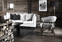 Rustic, wood etc. / by Alexandra Bezrukova