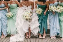 Dresses - Bridesmaids / Stunning dresses and great Ideas for my girls