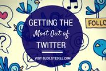 Best Twitter Tips / Building your brand, growing and community and fan-base, and relating to customers on a personal level is all a part of mastering Twitter. We want to help! http://www.sitesell.com