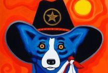 blue dog ~ Rodigue