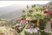 Wedding | O'Donnell House / Included on the National Register of Historic Places and designated as a Palm Springs Historic site, the O'Donnell house is located hillside just steps from Palm Canyon Drive with a spectacular view of Palm Springs.