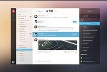 Desktop Applications / The design of native desktop applications.