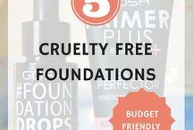 Eco Beauty: Vegan Makeup / Vegan and cruelty free makeup!