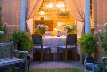 Outside Life / Outdoor Living Spaces / by Becki Swindell