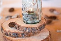 Table Decor | BHB / Ideas for centerpieces for formal receptions to laid-back parties