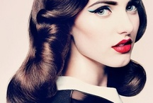 Beautiful Hair and Makeup Inspiration / Looks that inspire our creativity, looks we can replicate for you!