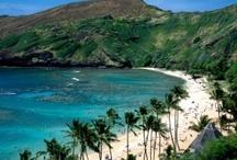 hawaiian islands...born on oahu / by Cindy Clark Ellison