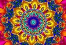 KaLeiDoScOPeS....color magic ox / by Cindy Clark Ellison