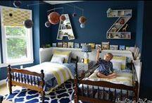 Girls and Boy's bedroom