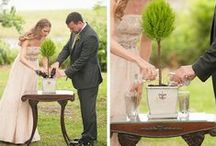 Ceremony Inspiration | BHB / Creative ways to show the joining of two families and two lives.