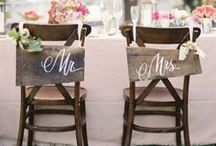 Signs We Love | BHB / Signs at your wedding and/or reception are a fun, creative way to personalize the day