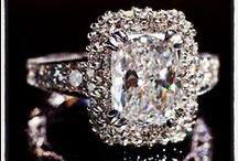 Diamond Engagement Rings / by Tia Fattori