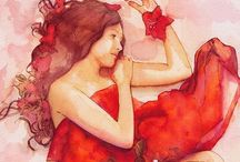 The Lady in Red / Red! / by Becki Swindell