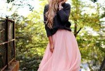 Pinspiration: Sweater&Skirt
