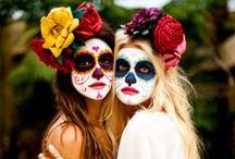 Day of the Dead / Day of the Dead and Halloween go together so well. We love celebrating both in our store.