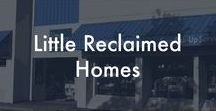 Little Reclaimed Homes / Little houses made from reclaimed materials