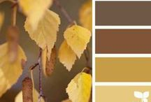 Pinspiration: Brown and Yellow