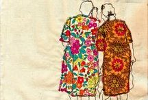 Applique/Embroidery Inspirations / Creative looks at appliqué and embroidery