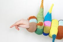 Knitting - Bags, accessories