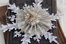 Winter wonderland / DIY Christmas and Winter ideas.   / by Tracey Parker