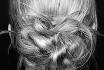 Vanity - Hair / I love getting ideas for new hairstyles. / by Bethany Ewing