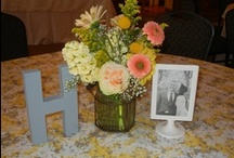 Linens and Center Pieces