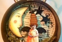All Hallows Eve / All and everything vintage, glittery, festive, and spooky for my favorite holiday! / by Tracey Parker