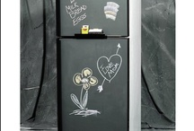 """Chalkboard Ideas / Frigo Design offers customers """"Sheet Goods"""". We purchase significant quantities of material for our custom fabricated products. Green or Black Chalkboard and many, many more."""