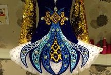 Irish Dance Solo Dresses / Irish dance solo dress designs. Need inspiration, inspiration, inspiration, especially for skirts! / by Laureen Burger