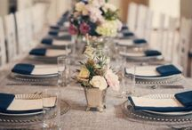 Wedding table ideas / inspiration for your wedding reception