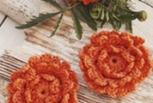 Crochet Flowers / by Karen Strauss