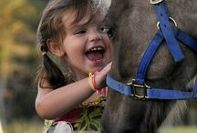 Every little girl's first love....a horse