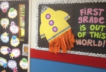 outer space classroom theme