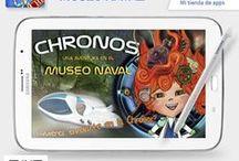 Our App; Chronos una aventura en el Museo Naval / La app ganadora de la incubadora de proyectos de Samsung, ya se puede descargar gratis en http://apps.samsung.com/earth/topApps/topAppsDetail.as?productId=00000053007280.jpg