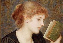 Book Love - Fine Art / by Catherine Wadhams