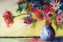 Watercolors - Floral / by Catherine Wadhams