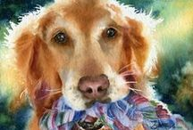 Fine Art - DOGS / by Catherine Wadhams