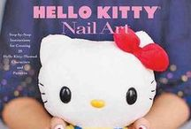 Hello Kitty / Love Hello Kitty? Us, too! Check out HELLO KITTY NAIL ART by Masako Kojima for #nailart inspiration! / by ABRAMS