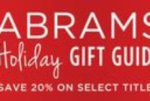 2014 Holiday Gift Guide / We've got you covered for everyone on your list! Enter code HOL2014 at checkout and save 20% on these selected titles.  http://www.abramsbooks.com/holidaygiftguide/  / by ABRAMS
