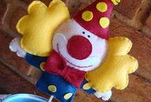 Festas Infantis / Coletânea de diversos temas para decoração de mesa de Festas Infantis, lembrancinhas e convites.