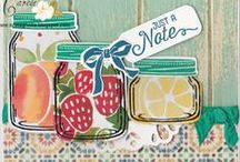 SU Jar of Love / To order your Stampin' Up! products see me at http://www.stampinup.net/esuite/home/cparsons/