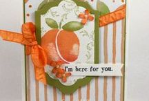 SU Fresh Fruit / To order your Stampin' Up! products see me at http://www.stampinup.net/esuite/home/cparsons/
