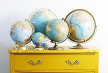 Maps and Globes / Ideas using maps and globes