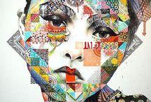 Chuck Close project inspiration