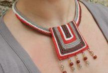 TEJIDOS / crochet, puntadas, ideas para bordado, joyería en crochet / by mrx