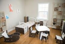 Toddler Playroom - Sprout / Modern Toddler Playroom Furniture / by Sprout Modern Kids Furniture