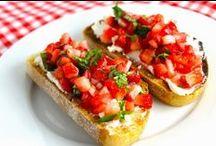 Pizzas | Focaccia | Crostini | Brusquetta | Flat Breads